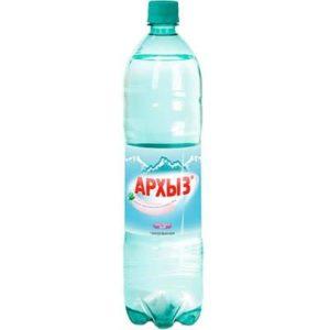 Архыз вода минеральная газ,ПЭТ 1,5л.*6шт.