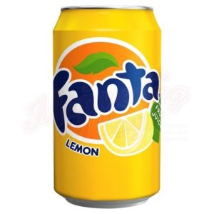 Фанта Лимон ж/б 0,33л.*24шт.(Польша)