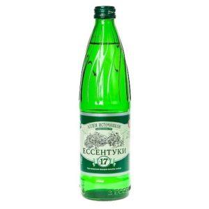 Аллея Источников Ессентуки №17 вода минеральная газ 0,5л.*20шт.