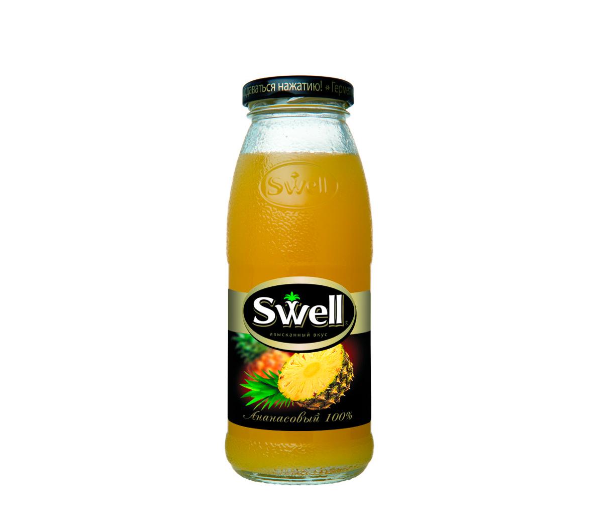 Сок Swell ананас стекло 0,25л.*8шт.