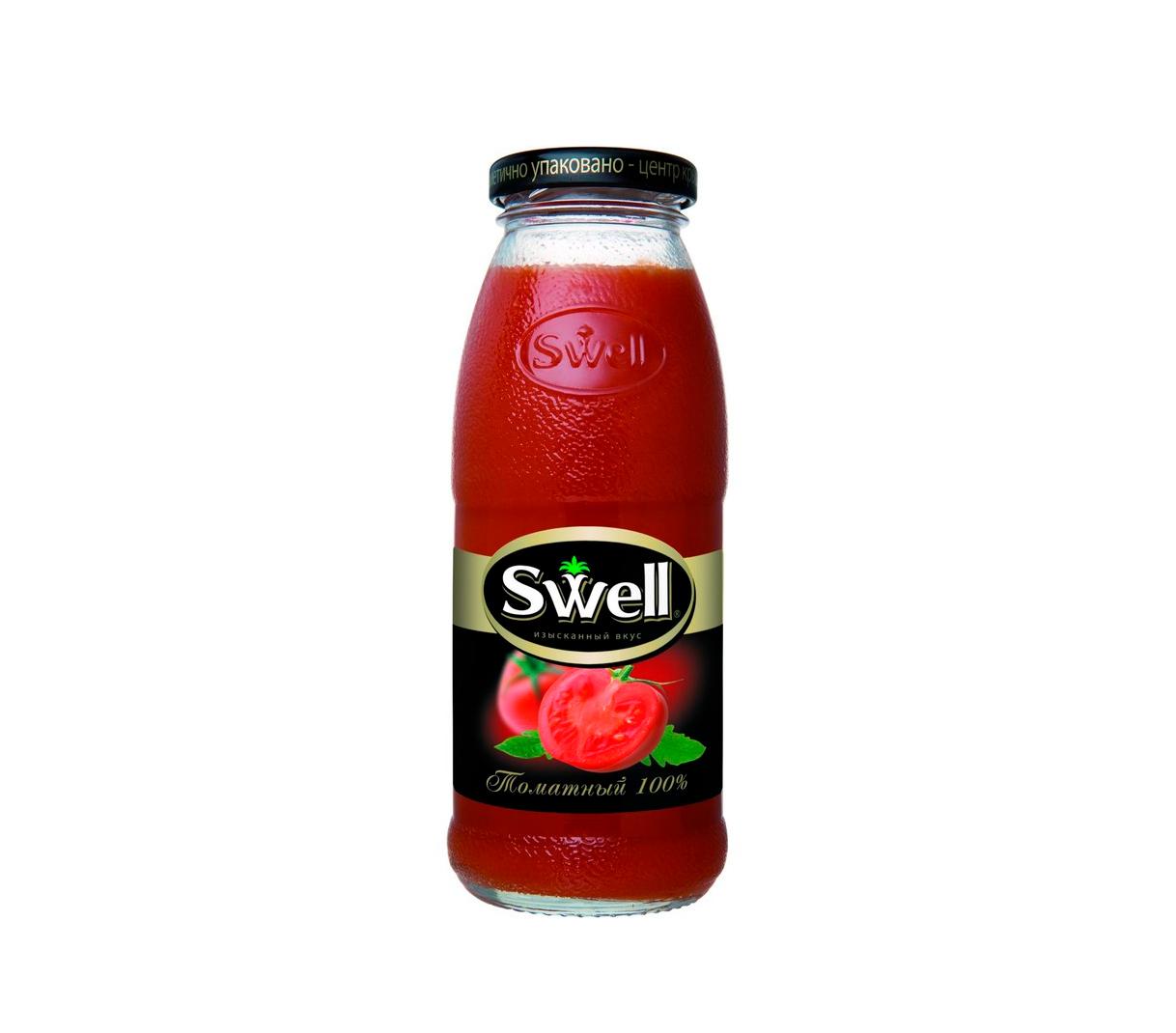 Сок Swell томат стекло 0,25л.*8шт.
