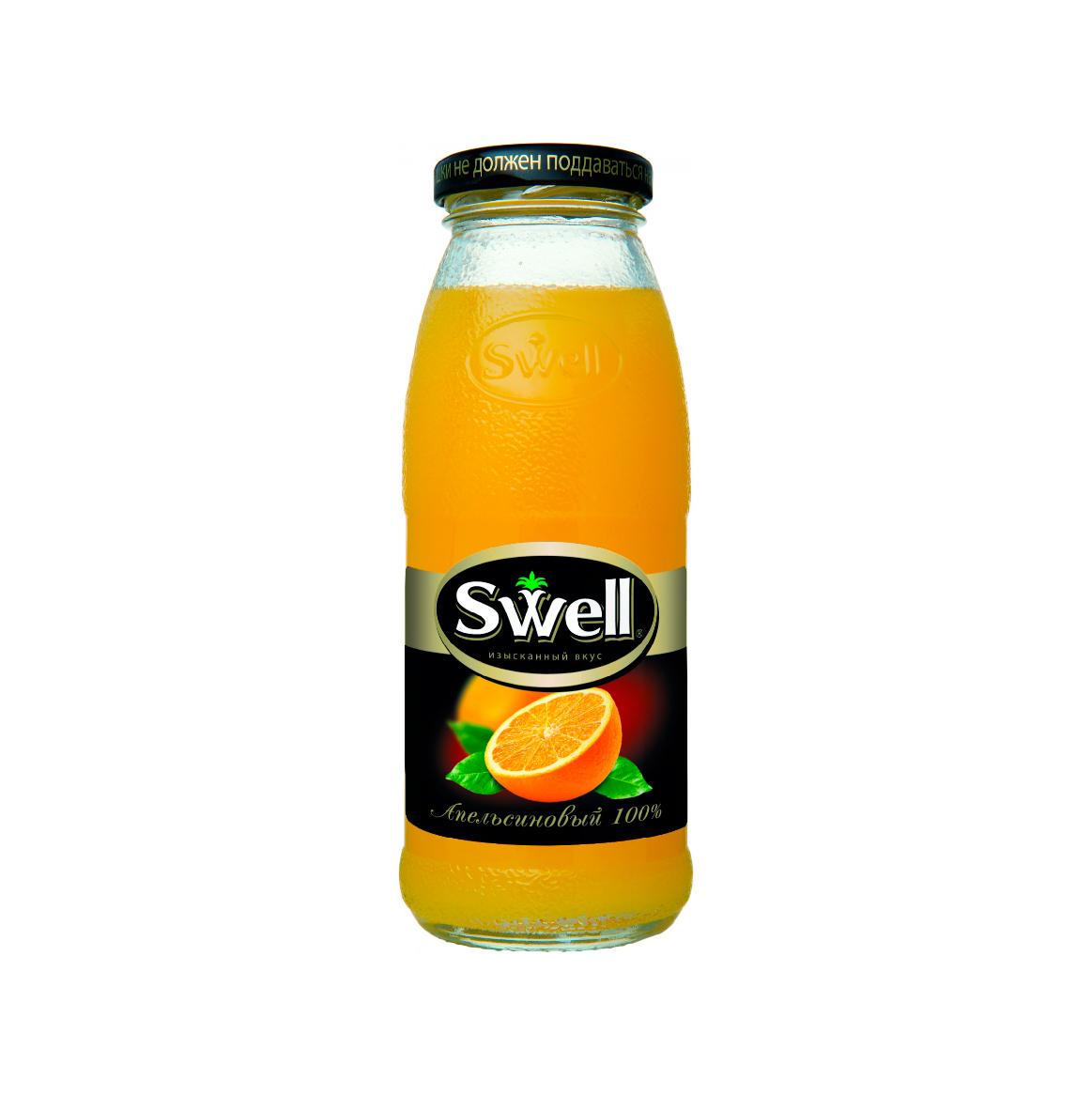 Сок Swell апельсин стекло 0,25л.*8шт.