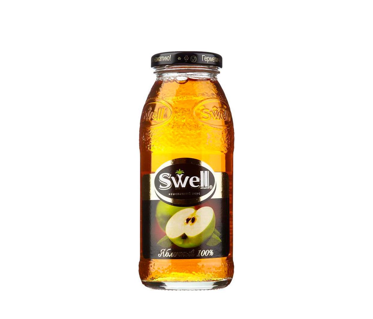 Сок Swell яблоко стекло 0,25л.*8шт.
