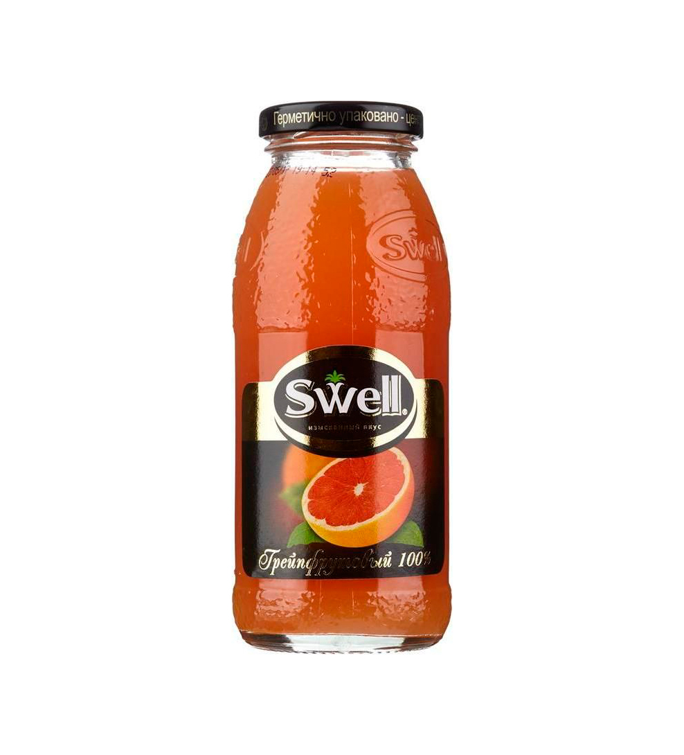 Сок Swell грейпфрут стекло 0,25л.*8шт.