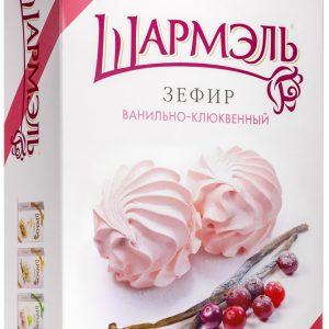 Зефир Шармель Ванильно-Клюквенный (Ударница) 255г*12шт