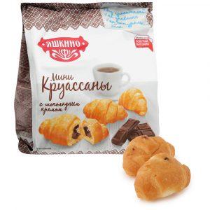 Мини-круассаны Яшкино с Шоколадным кремом 180г.*8шт.